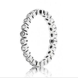 Pandora Sparkling Band Ring